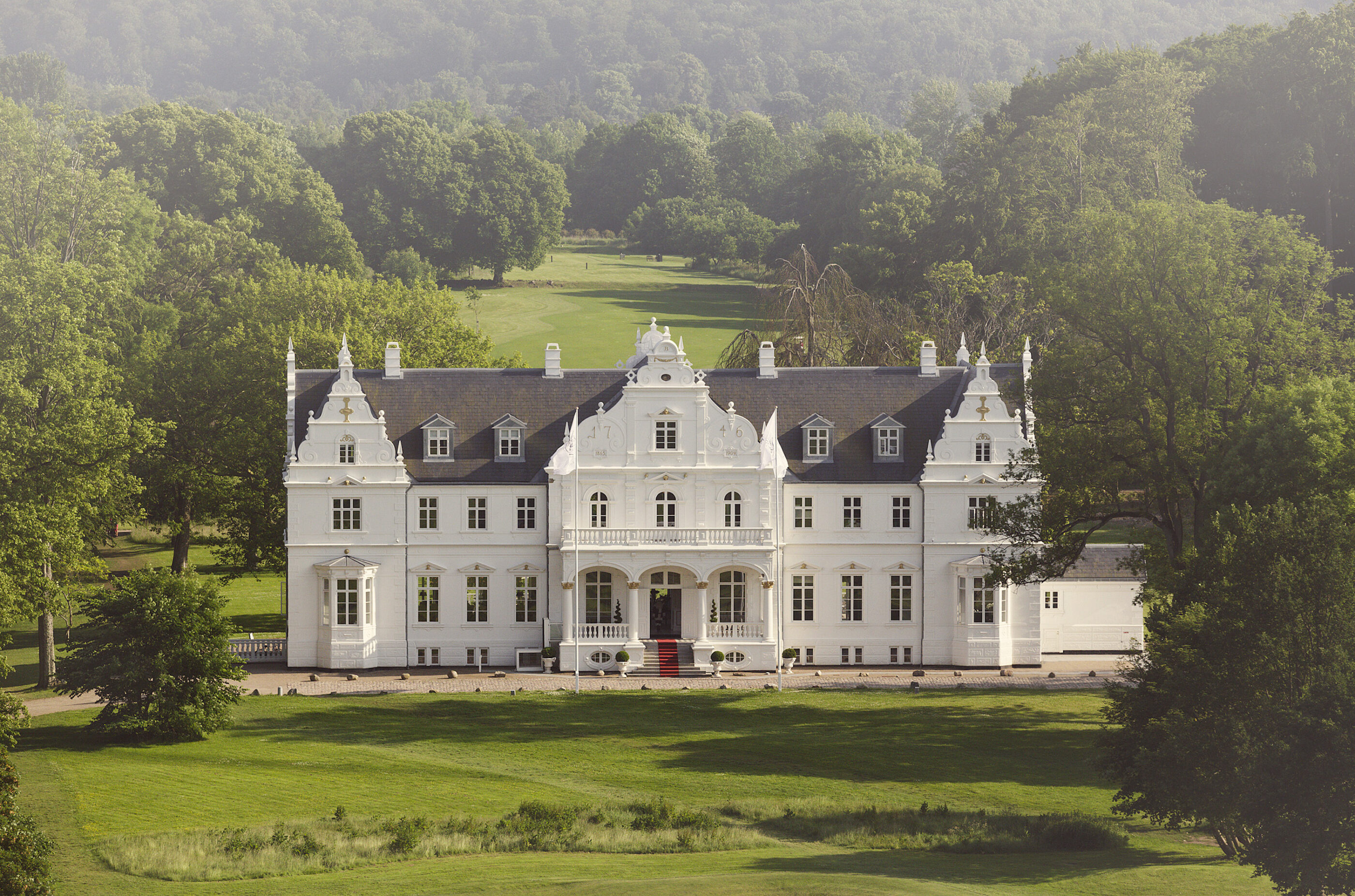 Nærbillede af Kokkedal Slot